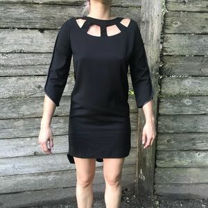 NWT Esley Cut Out Black Dress Small